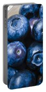 Blueberries Punnet Portable Battery Charger