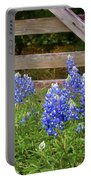 Bluebonnet Gate Portable Battery Charger