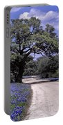 Bluebonnet Road Portable Battery Charger