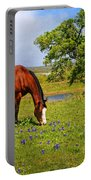 Bluebonnet Trail Delight Portable Battery Charger