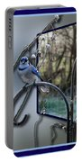 Bluejay Oob - Featured In 'out Of Frame' And Comfortable Art Groups Portable Battery Charger