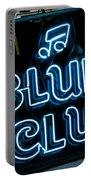 Blues Club On Bourbon Street Nola  Portable Battery Charger