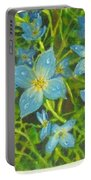Bluets Of The Shenandoah  Portable Battery Charger