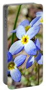 Bluets Upclose Portable Battery Charger