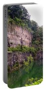 Bluffs Near Marina Norris Dam State Park Portable Battery Charger