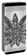 Bnw Black N White Star Ufo Art  Sprinkled Crystal Stone Graphic Decorations Navinjoshi  Rights Manag Portable Battery Charger