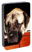 Mastiff Art By Sharon Cummings Portable Battery Charger