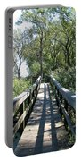 Boardwalk At Tifft Nature Preserve Buffalo New York Portable Battery Charger
