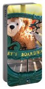 Boardwalk Bear Portable Battery Charger