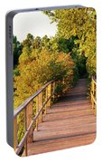 Boardwalk In A Forest, Magee Marsh Portable Battery Charger