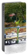 Boat On Dock Portable Battery Charger