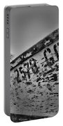 Boat - State Of Decay In Black And White Portable Battery Charger