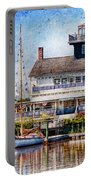Boat - Tuckerton Seaport - Tuckerton Lighthouse Portable Battery Charger