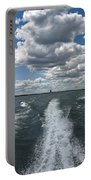 Boat Wake 01 Portable Battery Charger