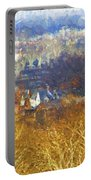Boathouse Row Impasto Portable Battery Charger