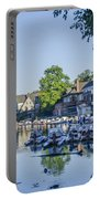 Boathouse Row In September Portable Battery Charger