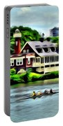Boathouse Rowers On The Row Portable Battery Charger