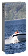 Boating On Grand Traverse Bay Portable Battery Charger