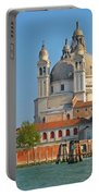 Boating Past Basilica Di Santa Maria Della Salute  Portable Battery Charger
