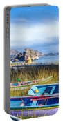 Boats And Floating Islands Portable Battery Charger