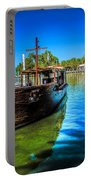 Boats At Kibbutz On Sea Galilee Portable Battery Charger