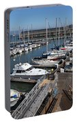 Boats At The San Francisco Pier 39 Docks 5d26004 Portable Battery Charger