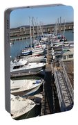 Boats At The San Francisco Pier 39 Docks 5d26005 Portable Battery Charger