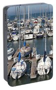 Boats At The San Francisco Pier 39 Docks 5d26009 Portable Battery Charger