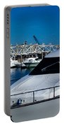 Boats In Port 2 Portable Battery Charger