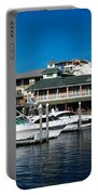 Boats In Port 3 Portable Battery Charger