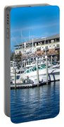 Boats In Port 5 Portable Battery Charger