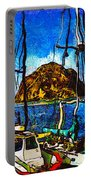 Boats Of Morro Bay Portable Battery Charger