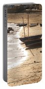 Boats On Beach 02 Portable Battery Charger by Pixel  Chimp