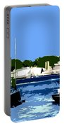 Boats On Strangford Lough Portable Battery Charger