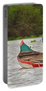 Boats On The River Portable Battery Charger