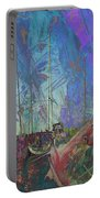 Boats W Painted Abstract Portable Battery Charger