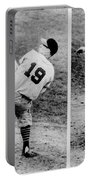 Bob Feller Pitching Portable Battery Charger