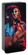 Bob Marley 2 Portable Battery Charger by Paul Meijering