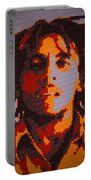 Bob Marley Lego Pop Art Digital Painting Portable Battery Charger