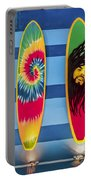 Bob Marley Surfing Display Portable Battery Charger
