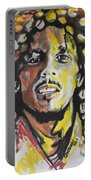 Bob Marley 01 Portable Battery Charger