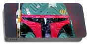 Boba Fett Star Wars Bounty Hunter Helmet Recycled License Plate Art Portable Battery Charger