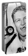 Bobby Hull Scores 50th Goal Portable Battery Charger