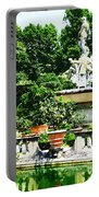 Boboli Gardens Fountain Florence Italy Portable Battery Charger