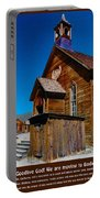 Bodie Ghost Town Church Portable Battery Charger