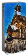 Bodie Ghost Town Methodist Church Portable Battery Charger