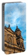Bogota Cathedral Front Portable Battery Charger