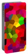 Bold And Colorful Phone Case Artwork Designs By Carole Spandau Cbs Art Exclusives 107  Portable Battery Charger