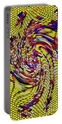 Bold And Colorful Phone Case Artwork Designs By Carole Spandau Cbs Art The Golden Dragon 114  Portable Battery Charger