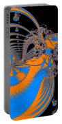 Bold Energy Abstract Digital Art Prints Portable Battery Charger